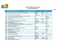 CBELRS Tableau Hebdomadaire des offres d'emploi 16 NOV