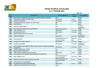CBELRS Tableau Hebdomadaire des offres d'emploi 01 FEVRIER