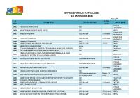 CBELRS Tableau Hebdomadaire des offres d'emploi 15 FEVRIER