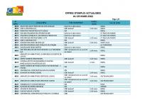 CBELRS Tableau Hebdomadaire des offres d'emploi 29 MARS