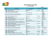 CBELRS Tableau Hebdomadaire des offres d'emploi 7 AVRIL