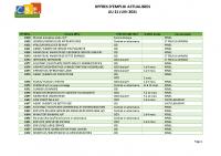 CBELRS Tableau Hebdomadaire des offres d'emploi 21 JUIN