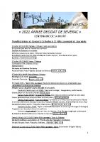 2021 ANNEE DEODAT DE SEVERAC